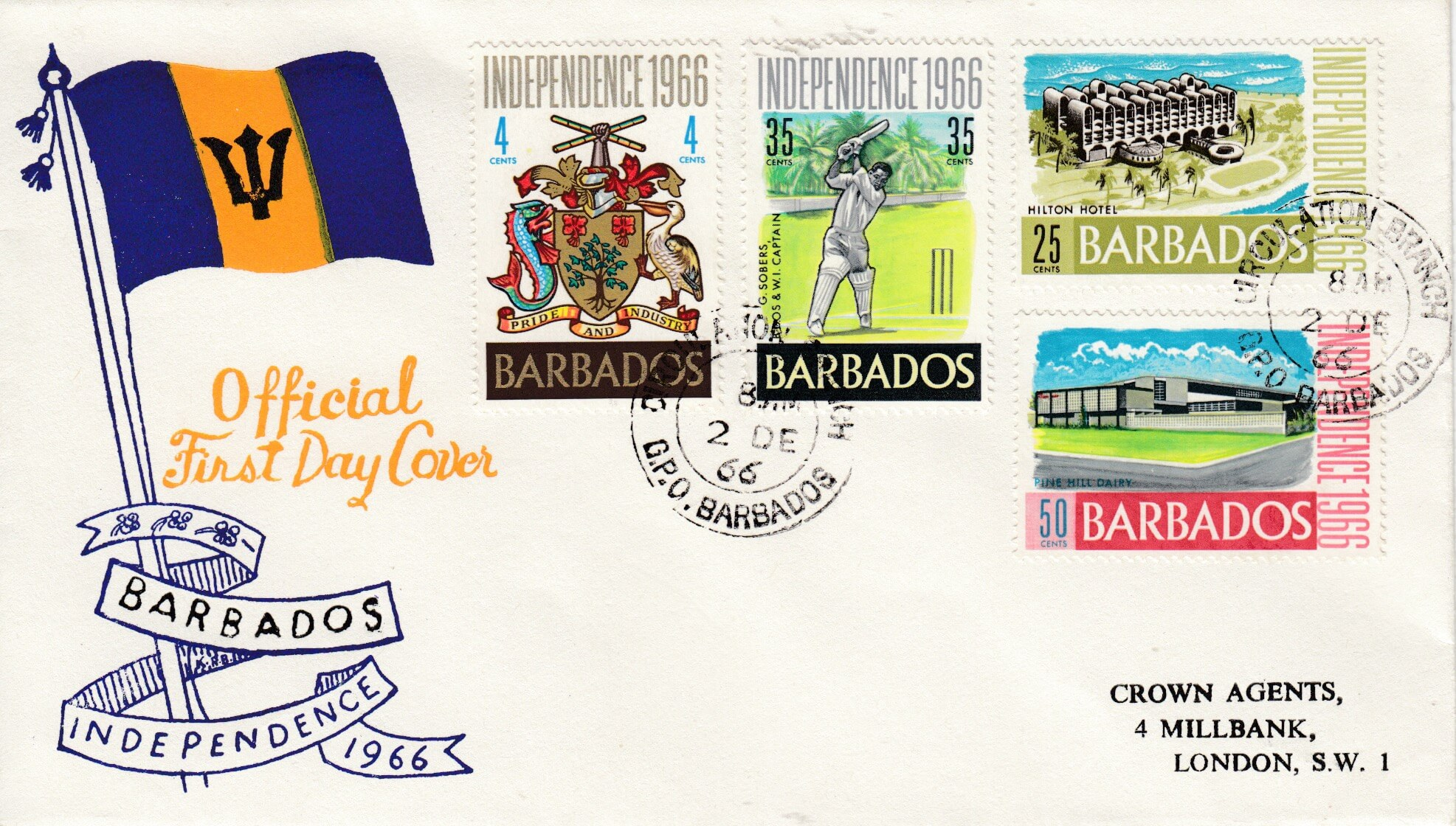 Happy Independence Day, Barbados!