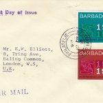 Barbados ILO FDC 1969 - plain cover
