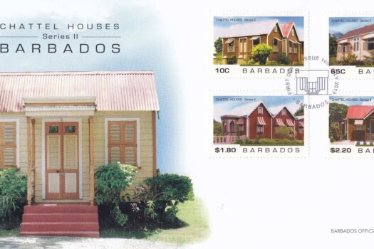 Barbados 2019 Chattel Houses 2 FDC