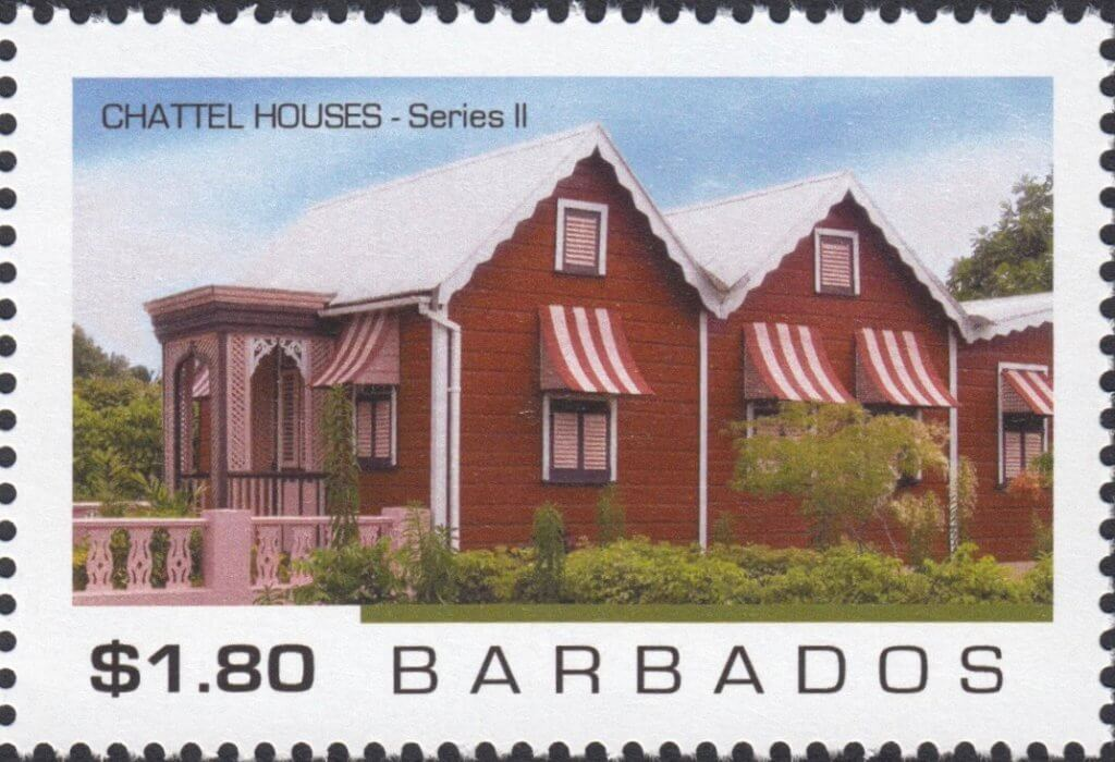 Barbados Chattel Houses 2 2019 – $1.80 stamp