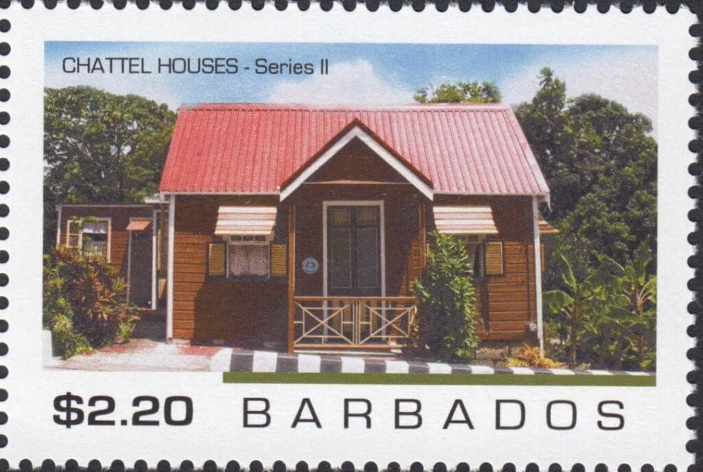 Barbados Chattel Houses 2 2019 – $2.20 stamp