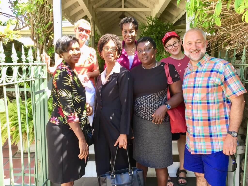 Barbados Philatelic Bureau staff 2019