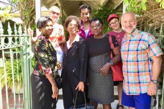 Barbados Philatelic Bureau staff 2019