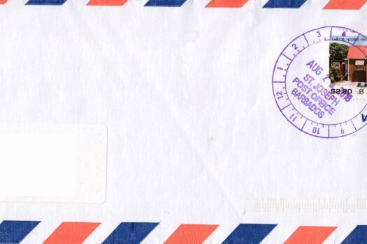 Letter from St Elizabeth Barbados to the UK