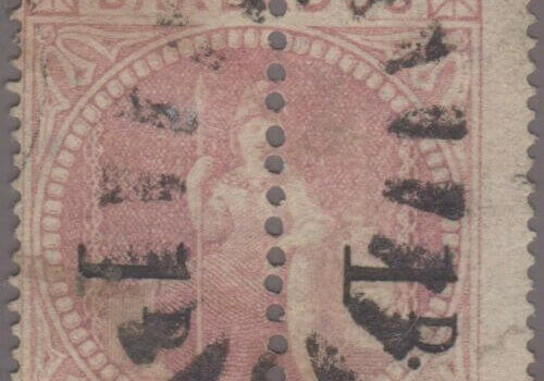 Barbados SG86b Forgery