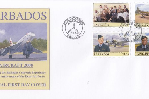 Barbados 2008 Concorde Experience & 90th Anniversary of the RAF FDC