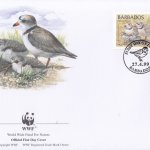 Barbados 1999 Wildlife (Piping Plover) WWF Official FDC 3 of 4
