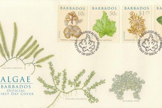 Barbados 2008 Algae FDC