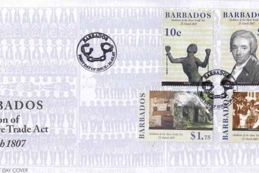 Barbados 2007 Abolition of the Slave Trade Act FDC