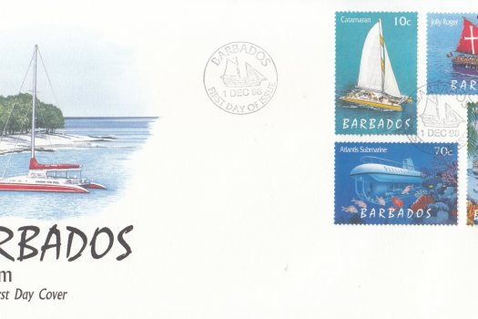 Barbados 1998 Tourism FDC