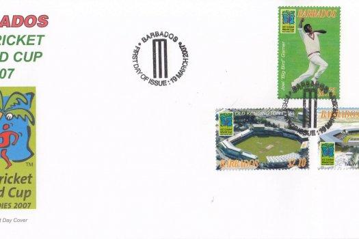 Barbados 2007 ICC Cricket World Cup FDC