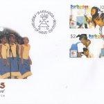 Barbados 2006 Children - they are the future FDC