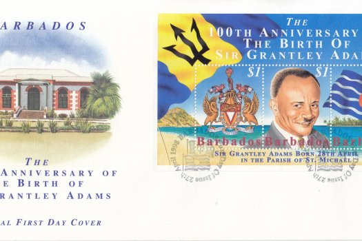 Barbados 1998 100th Anniversary of the Birth of Sir Grantley Adams FDC
