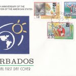 Barbados 1998 50th Anniversary of the Organisation of the American States FDC