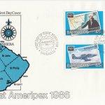 Barbados Ameripex FDC May 1986