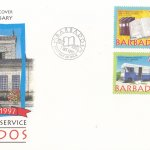 Barbados 1997 150th Anniversary of the Public Library Service FDC