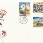 Barbados 1986 Diamond Jubilee of Electricity in Barbados FDC September 1986