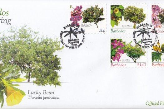 Barbados 2005 Barbados Flowering Trees FDC (2)