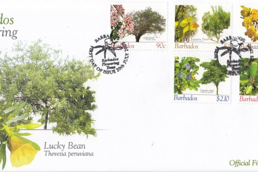 Barbados 2005 Barbados Flowering Trees FDC (1)