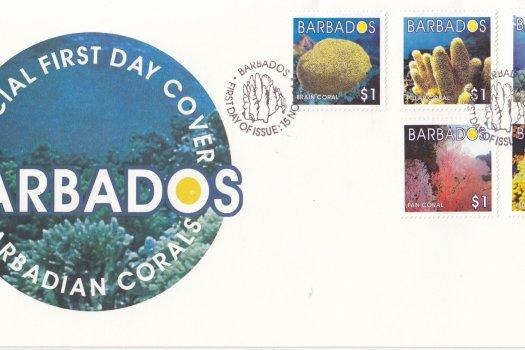 Barbados 2004 Barbadian Corals FDC