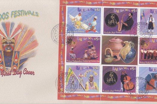 Barbados 2003 Barbados Festivals FDC