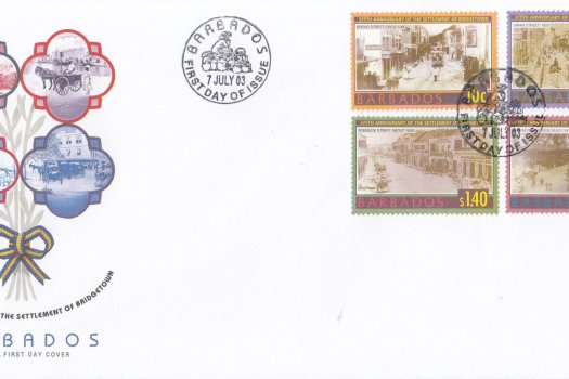 Barbados 2003 375th Anniversary of the Settlement of Bridgetown FDC