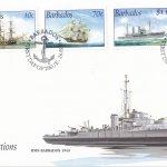 Barbados 2003 Royal Navy Connections FDC