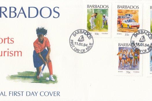 Barbados 1994 Sports Tourism FDC