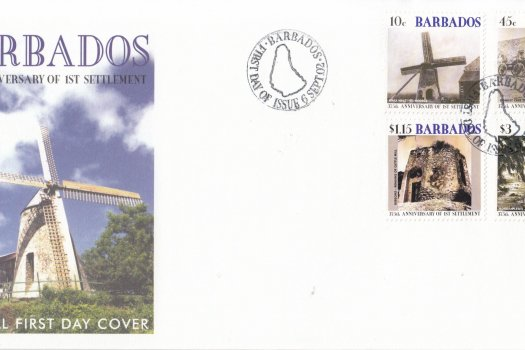 Barbados 2002 375th Anniversary of First Settlement FDC
