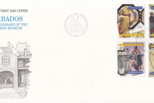Barbados 1993 60th Anniversary of the Barbados Museum FDC