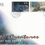 Barbados 2001 Deep Sea Creatures FDC (2)