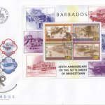 Barbados 2003 375th Anniversary of the Settlement of Bridgetown Souvenir Sheet FDC