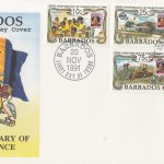 Barbados 1991 25th Anniversary of Independence FDC