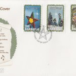 Barbados 1990 Christmas FDC