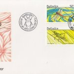 Barbados 1990 Insects FDC