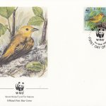Barbados 1991 Yellow Warbler WWF Official FDC 2 of 4
