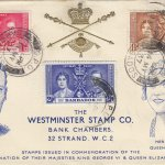 Coronation 1937 Barbados FDC to Westminster Stamp Company
