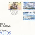 Barbados 1994 Ships Definitives - Low Values