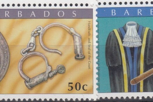 Barbados SG1340-43 | 300th Anniversary of the Restructured Criminal Court