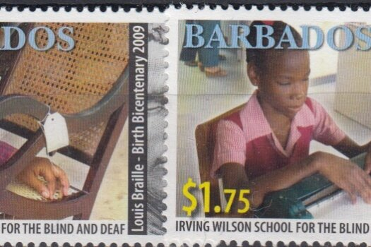 Barbados SG1336-39 | Birth Bicentenary of Louis Braille & Barbados Association for the Blind and Deaf