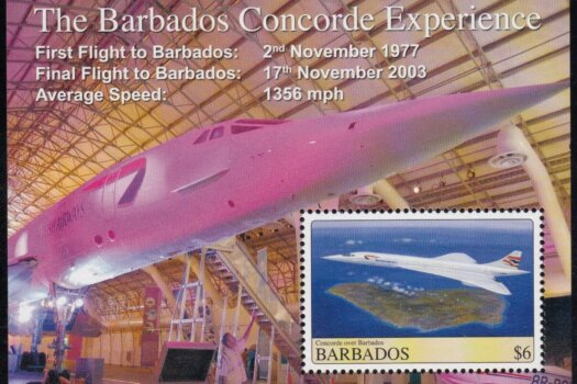 Barbados MS1331 | Concorde over Barbados