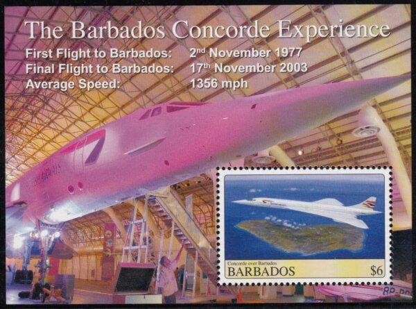 Barbados MS1331 | Concorde over Barbados