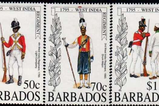 Barbados SG1043-47 | Bicentenary of the Formation of the Barbados Regiment