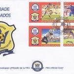 Barbados 2004 Fifa 100 Years Barbados Football Association FDC