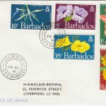 Barbados 1970 Flowers of Barbados FDC -2