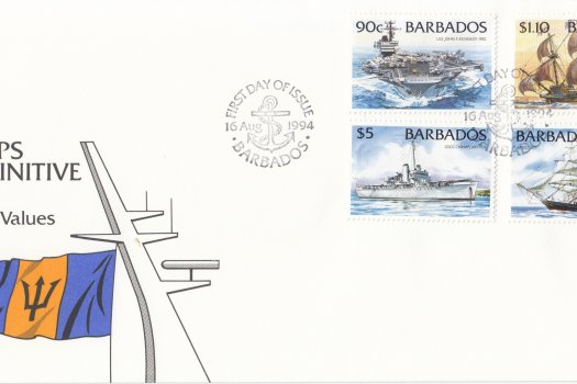 Barbados 1994 Ships Definitives - High Values