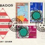 Barbados 1969 CARFITA FDC