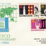 Barbados 1967 UNESCO 20th Anniversary FDC - illustrated cover