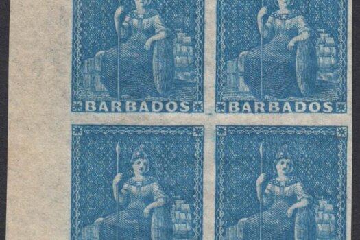 Barbados SG4 Block of four