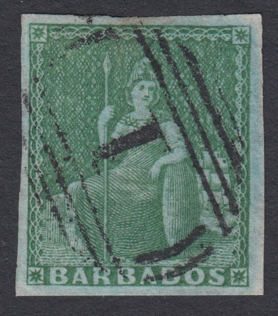 Is this the best ever Barbados Britannia stamp?